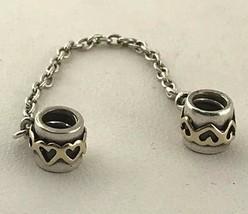 Pandora Liebe Verbindung Schutz Kette in 925 Sterling Silber Charm - $44.25