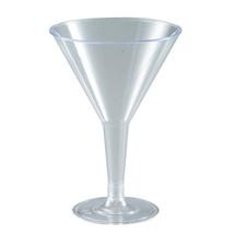 6 Oz. Plastic Martini Glass/Case of 192 - $81.96