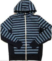 Mens Lululemon Core Hoodie Sweatshirt Micro Macro Stripe Inkwell Blue sz S - $75.54