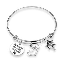 TOGON Nurse Graduation Gift Nurse Bracelet with Nurse Hat Medical RN Cha... - $18.17