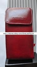 MODA Case OSFM SMALL PHONES Burgundy+Black LANYARD CARRIER Faux Leather ... - $5.93