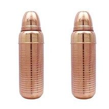 2 Pcs Copper Cocktail Shaker Bartender Bar Accessories Drink Mixer Barwa... - €28,39 EUR
