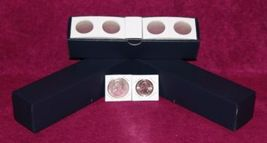 "1½"" x 1½"" Cardboard Penny Coin Flips w/Blue storage boxes. (100 per box)  - $7.79"