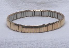 Signed Milor Expandable Link Bracelet Stainless Steel - $9.29