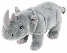 "Wildlife Tree 9"" Rhinoceros Rhino Stuffed Animal Plush Floppy Zoo Specie... - $29.99"