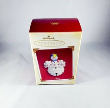 Hallmark Keepsake 2005 Son Christmas Ornament Snowman Bell Kids, New Collectible - $7.55