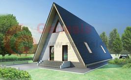 Plan House A-Frame - $31.68