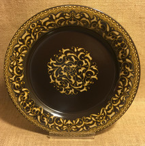 """Franciscan Jamoca Earthenware Salad Plates Set Of 2 Excellent More Available 9"""" - $12.99"""