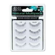 Natural Multipack Lashes - 110 Black 4 Pack - $18.53