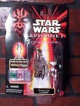 Star Wars Gasgano W / Fosse Droid Figurine Articulée Nouveau Commtech Ép... - $4.17
