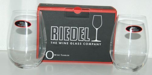 Riedel 041430 Syrah Shiraz Red Wine Tumbler Set of 2 Crystal