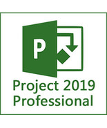 Microsoft Project 2019 Professional - 32/64-bit Key With Download - $9.90