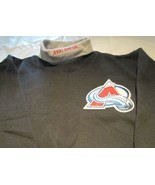 Colorado Avalanche Youth Sweat Shirt Medium Turtleneck  NHL Majestic Bra... - $9.99