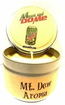 Mount and Do Me (Mt. Dew Aroma) 4oz All Natural Novelty Tin Soy Candle, ... - $8.98