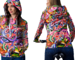 Psychedelic face dna trippy tongue dmtt hoodie women thumb155 crop