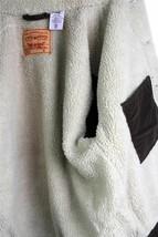 NEW LEVI'S MEN'S CLASSIC CORDUROY BROWN FUR TRUCKER JACKET 705200018 SIZE S image 2