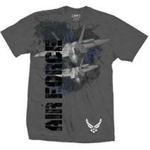 Vertical Print U.S. Air Force T-Shirt - $25.75