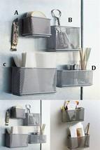 File Organizer Office Supply Letter Holder Sturdy Mesh Desk Tray 4 Pcs w... - $27.06