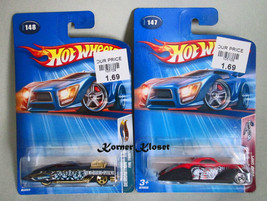 "Lot of 2 Mattel Hot Wheels Cars - ""Crank Itz"" Swoop Coupe & ""Demonition"" - NIP - $14.46"