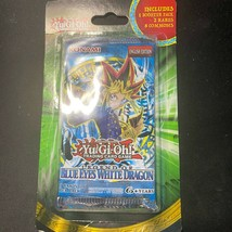 Yu Gi Oh Legend Of Blue Eyes White Dragon Lob Sealed Blister Booster Pack - $37.39