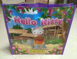 Sanrio Hello Kitty < Thai Elephant > in Thailand shopping tote bag. Limi... - $9.99