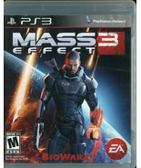 Mass Effect 3 (Sony PlayStation 3, 2012, PS3) Complete - $3.95