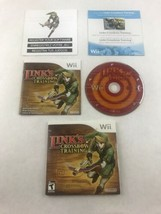 Link's Crossbow Training (Nintendo Wii, 2007) Disc & Instruction Booklet - $7.69