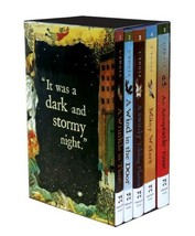 A WRINKLE IN TIME Quintent BOXED SET: 5 Paperback Titles by Madeleine L'... - £23.77 GBP