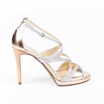 Jimmy Choo Marianne 100 Glitter Sandals SZ 40 - $205.00