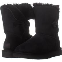 UGG Australia 1016 Pull On Winter Boots, Black 221, Black, 5 US / 36 EU - $74.87