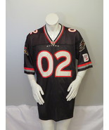 Ottaw Renegades Jersey by Puma - Home Black # 02 - Men's Extra Large  - $125.00