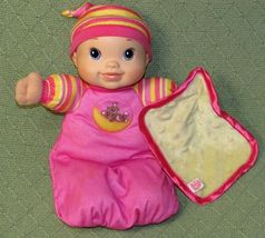Baby Alive Moonlight Lullaby 1st For Me MUSIC Giggles Coos BINKIE Plush Doll Toy - $18.65