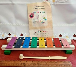 VINTAGE COLOR XYLO RIGHT-TIME TOYS CHILDHOOD INTERESTS ROSELLE PARK NJ image 1