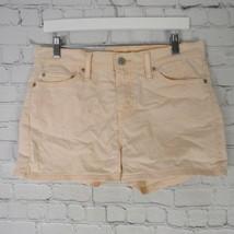 Levis Pantalones Cortos Mujer Talla 4 Rosa Claro Naranja - $13.08