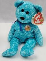 "TY SPARKLES BEAR BEANIE BABY RETIRED BBOM JAN 2003 MWMTS 8.5"" inch PLUSH... - $4.20"