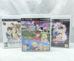 Tales of Symphonia Chronicles / Graces F / Xillia 1 & 2 Region Free Lot Sony PS3 - $247.49