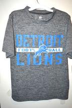 NFL Team Apparel Boys Detroit Lions T-Shirt Sizes XSmall 4-5 or Large 12... - $17.99