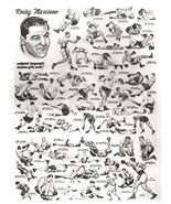 ROCKY MARCIANO 8X10 PHOTO BOXING PICTURE MONTAGE FIGHTS TO TITLE - €3,39 EUR