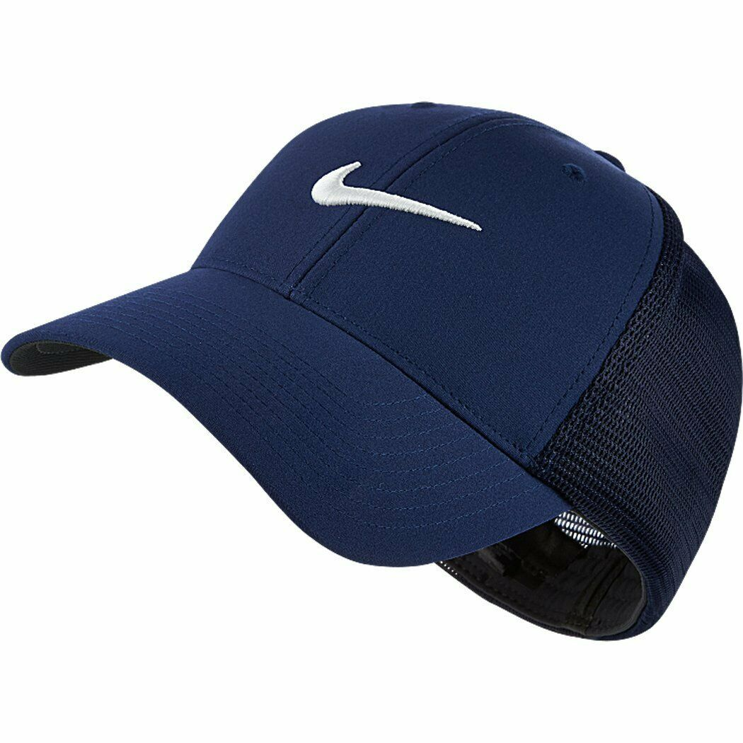 NEW! NIKE Unisex Legacy 91 Tour Mesh Hat-Midnight Navy/White M/L