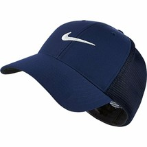 NEW! NIKE Unisex Legacy 91 Tour Mesh Hat-Midnight Navy/White M/L - $59.28