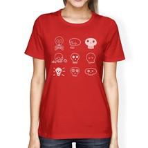 Skulls Womens Red Shirt - $14.99+
