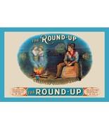 Round-Up Cigars - Art Print - $19.99+