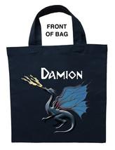 Blue Dragon Trick or Treat Bag, Blue Dragon Halloween Bag, Blue Dragon L... - $11.99+
