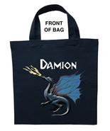 Blue Dragon Trick or Treat Bag, Blue Dragon Halloween Bag, Blue Dragon L... - $11.39+