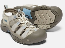 Keen Newport H2 Size 7 M EU 37.5 Women's Sports Sandals Taupe / Provincial Blue