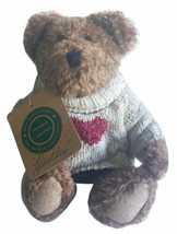 Boyds Bears Archive Collection Hartley Be Mine Heart Sweater 8.5 Inch Plush Bear - $22.43