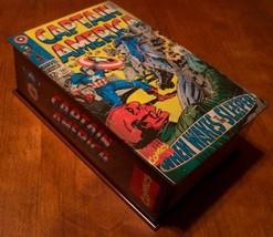 Vintage Style Captain America #101 Marvel Comic Collector's Tin Pop Art - $14.85