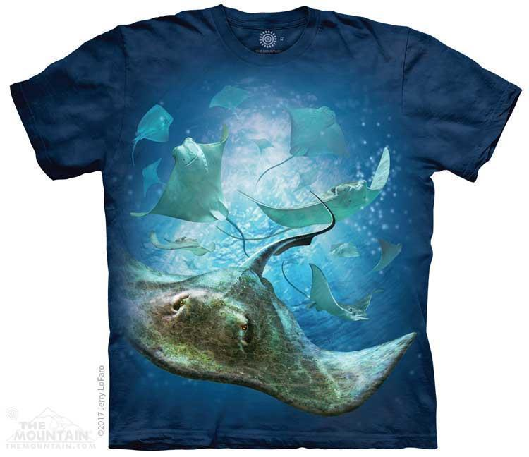 SCHOOL OF STINGRAYS CHILD T-SHIRT THE MOUNTAIN
