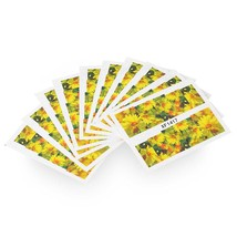10pcs Flower Nail Decals Art Water Transfer Stickers(#17) - $7.25