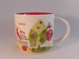 Starbucks 2014 Coffee Mug Ohio You Are Here 14 Oz - $24.74